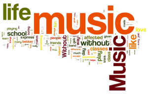 Music Wordcloud