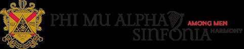 Phi Mu Alpha Sinfonia Logo