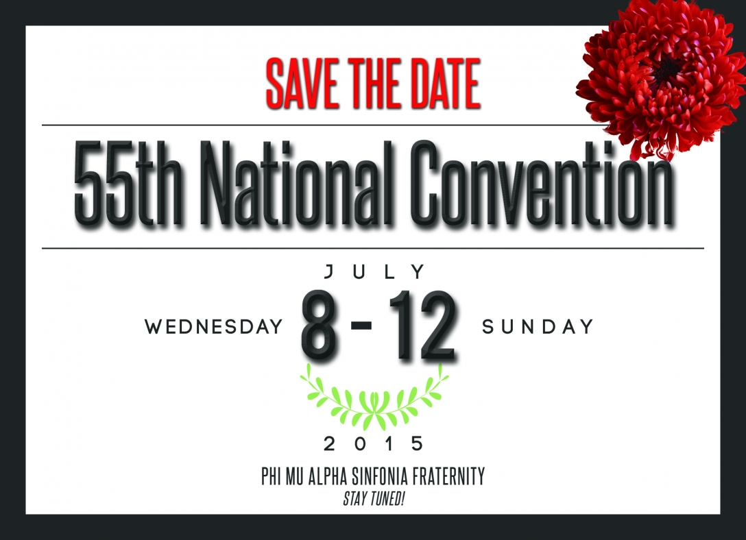 Convention Date Announcement