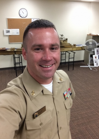 Chief Petty Officer Bobby J. Cast - Gamma Phi '06
