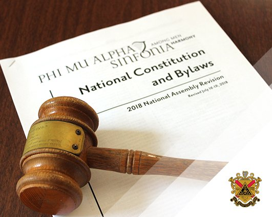 A review of changes to the National Constitution & Bylaws