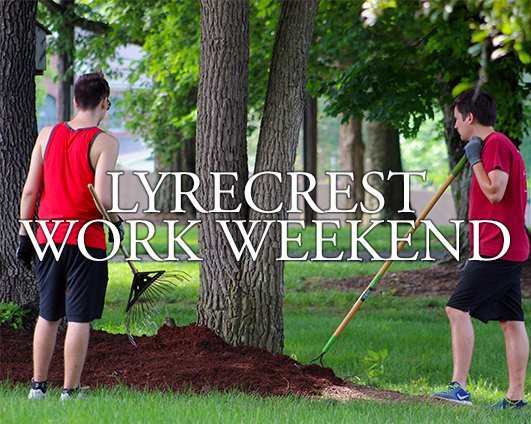 Lyrecrest Work Weekend 2019