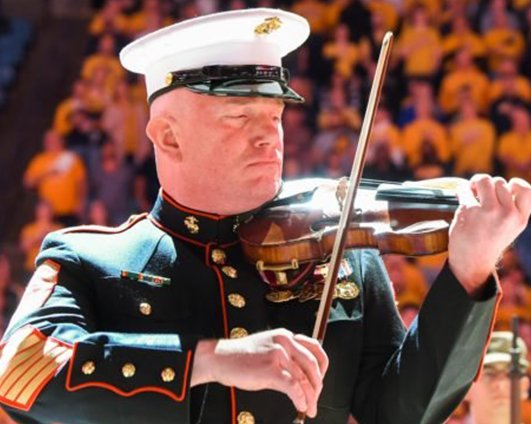 Brother Peter Wilson Retires from the President's Own United States Marine Band After 30 Years